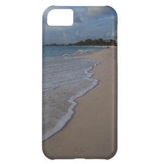 Tropiskt strandhav på sandig strand iPhone 5C fodral