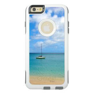Tropiskt turkosvatten med yachten OtterBox iPhone 6/6s plus skal