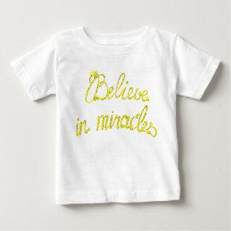 Tror den fina Jersey för babyen T-tröja i mirakel Tröja