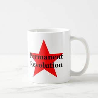 Trotsky: Permanent revolution Kaffemugg