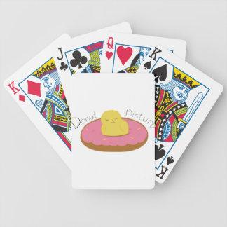 Trött munkfågel spelkort