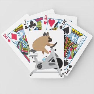 Tröttad hund spelkort