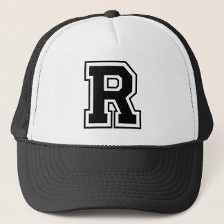 """Truckerkeps för brev """"R"""""""