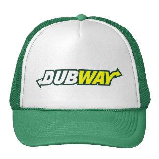 Truckerkeps för Dubway parodilogotyp Trucker Keps