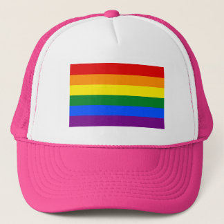 Truckerkeps för LGBT-priderosor