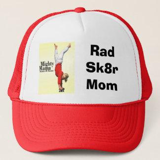 Truckerkeps för mamma för SkateboardmammorRad Sk8r