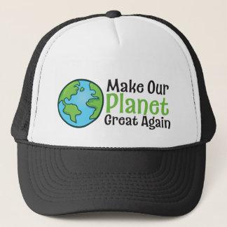 Truckerkeps för planet utmärkt igen
