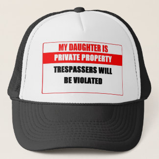 Truckerkeps för privat egendom