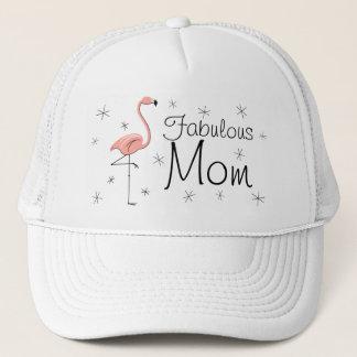 """Truckerkeps """"för sagolik mamma"""" för Flamingo"""