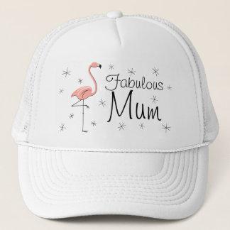 """Truckerkeps """"för sagolik morsa"""" för Flamingo"""