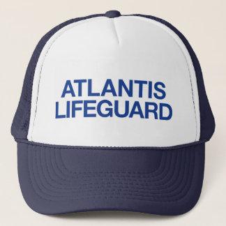 Truckerkeps för slogan för ATLANTIS LIVRÄDDARE
