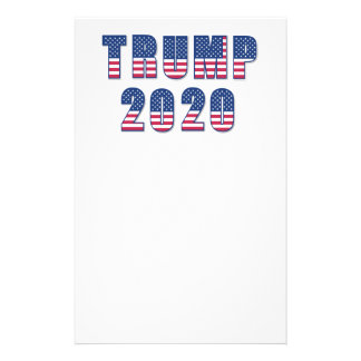 Trumf 2020 brevpapper