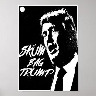 Trumf är den Skum affischen Poster