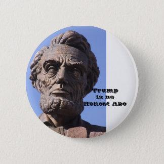 Trumf är ingen ärliga Abe knäppas Standard Knapp Rund 5.7 Cm