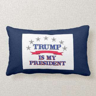 Trumf är min president lumbarkudde