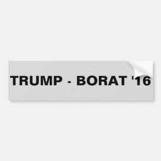 TRUMF - BORAT '16 BILDEKAL