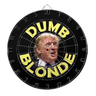 Trumf: Dum blondin Darttavla