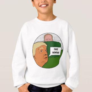 Trumf fejkar nyheterna tee shirt