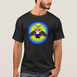 Trumf flyger på örn t-shirt