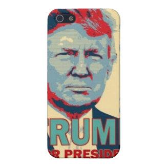 Trumf för fodral för presidentiPhone 4 iPhone 5 Hud