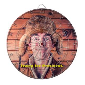 """""""Trumf för president"""" dartboard Piltavla"""