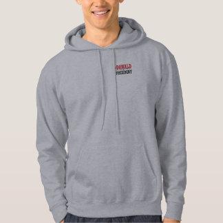 Trumf för president sweatshirt med luva