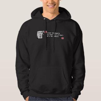 Trumfcitationstecken - jag vet kinesen - - .png sweatshirt med luva