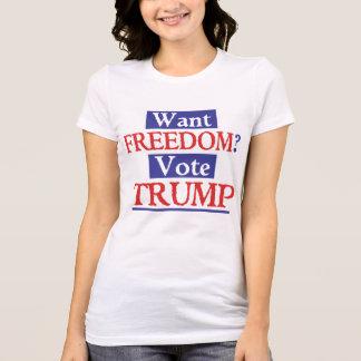 TRUMFfrihet Tshirts