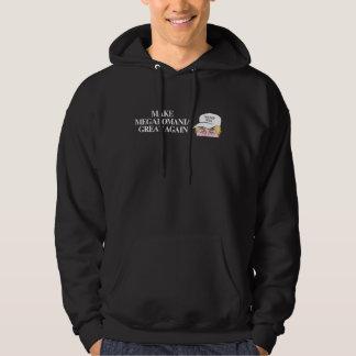 Trumfhatt - gör storhetsvansinne underbart igen - sweatshirt med luva