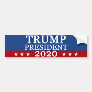 Trumfpresident 2020 bildekal