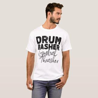 trumma bashercymbalhärmtrasten t shirt