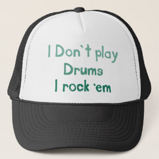 Trummar sten det hatten keps