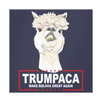 Trumpaca officiellkanvastryck canvastryck