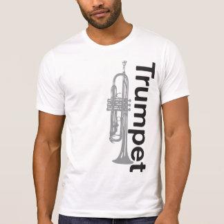 Trumpet förstörd T-tröja Tee
