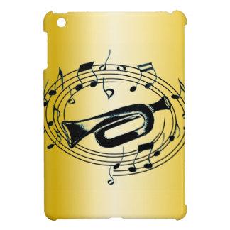 Trumpet och musik noter iPad mini mobil fodral