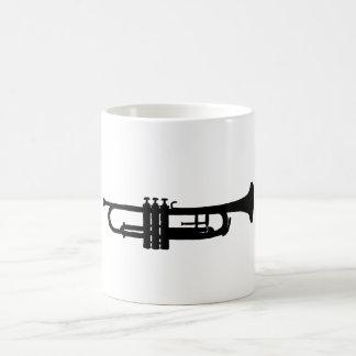 Trumpet Vit Mugg