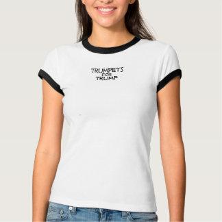 Trumpeter för trumfutslagsplatsskjorta tee shirts