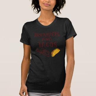 Trumpeter och Tacos T-shirts