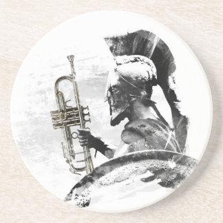 Trumpetkrigare Underlägg Sandsten