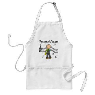 TrumpetspelareT-tröja och gåvor Förkläde
