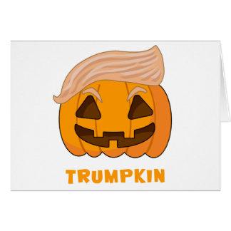 Trumpkin Donald Trump pumpa Hälsningskort