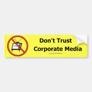 TrustCorpMedia Bildekal