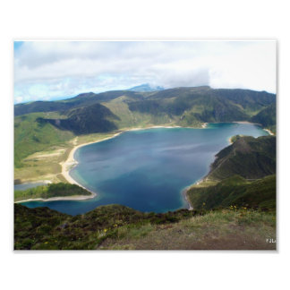 Tryck för Azores önatur Fototryck