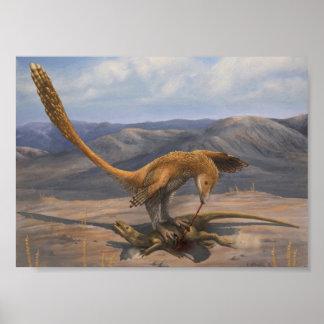 Tryck för Deinonychus rovtvång Poster