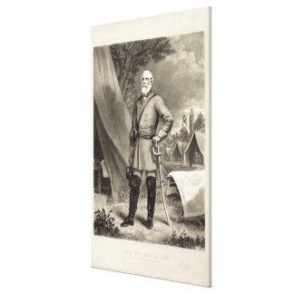 Tryck för förbundsmedlemGeneral Robert E. Lee