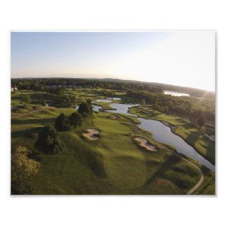 tryck för foto 8x10 - golfbana