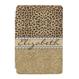 TRYCK för FOTO för Rhinestone för glitter för iPad Mini Skydd