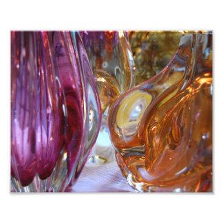 Tryck för fotografi för vintagekonst Glass