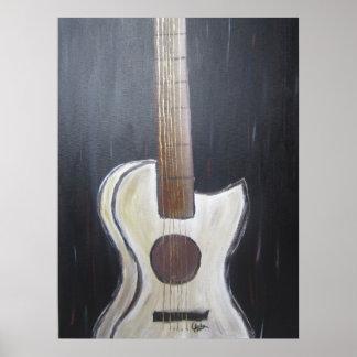 Tryck för gitarrmålning (akryl)