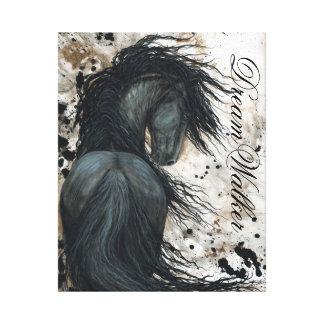 Tryck för häst för DreamWalker kanfaskonst vid